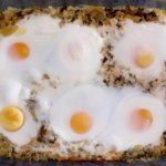 dock and rice with eggs