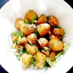 fried baby potatoes
